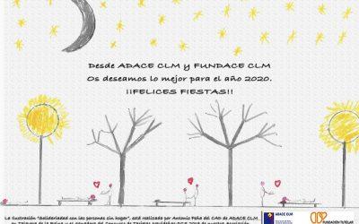 El equipo profesional de FUNDACE CLM os desea unas Felices Fiestas y un próspero 2020