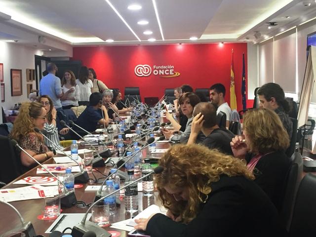 """FUNDACE CLM ha participado en la Jornada """"Barreras ante el emprendimiento con apoyo"""" organizada por Fundación ONCE en Madrid"""