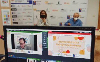 FUNDACE CLM analiza en un webinario online la tutela de personas con discapacidad