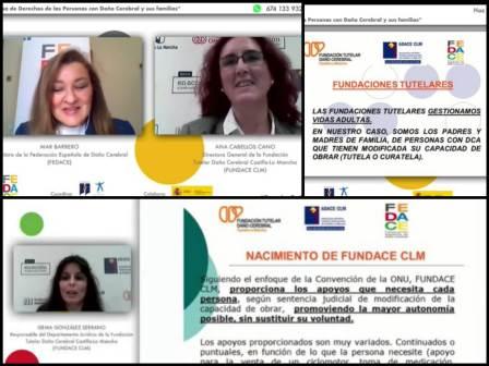FUNDACE CLM expone sus buenas prácticas en un Taller sobre Defensa de Derechos de personas con DCS organizado por FEDACE